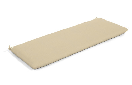 "Quick Ship Sunbrella 48"" Bench Cushion Spectrum Sand"