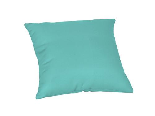 """Quick Ship Sunbrella 18"""" Square Throw Pillow Canvas Aruba"""
