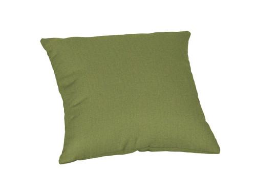 """Quick Ship Sunbrella 18"""" Square Throw Pillow Cast Moss"""