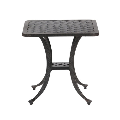 Castle Rock Outdoor Square End Table