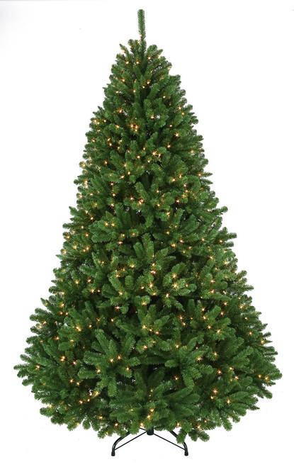 7.5' Thunder Bay Prelit Artificial Christmas Tree True Green