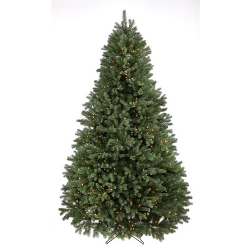 7.5' Prelit Colorado Spruce Artificial Christmas Tree