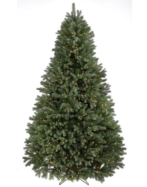9' Prelit Colorado Spruce Artificial Christmas Tree