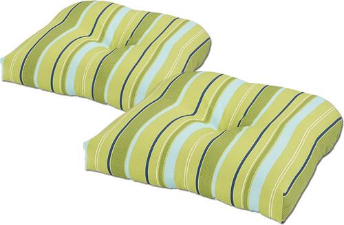 Outdoor Cushion Comet Stripe Single U Set of 2