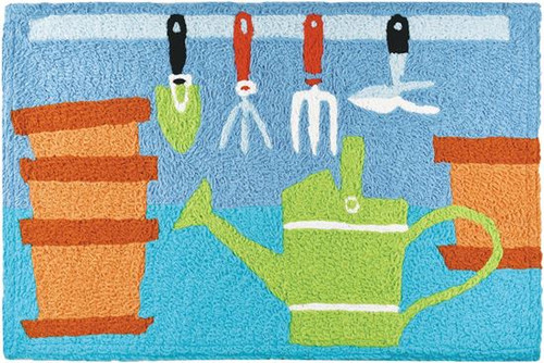 "Jellybean Potting Bench Rug 21"" x 33"""