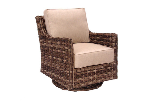 Erwin and Sons Torrence Swivel Glider w/ Cushion Caribou