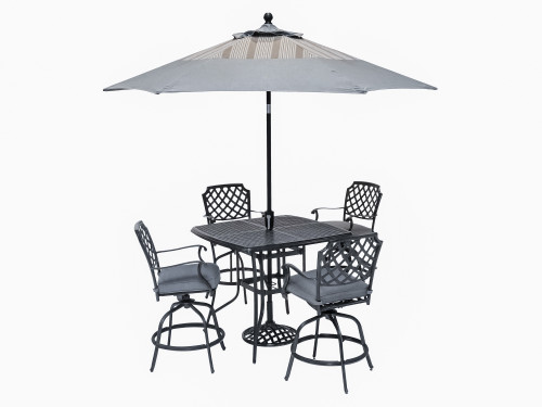 Madison 5 Piece Bar Dining Set
