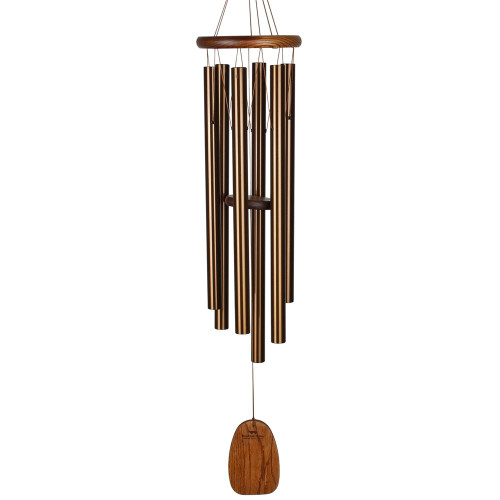 "Woodstock Large Amazing Grace Chime 40"" Bronze"