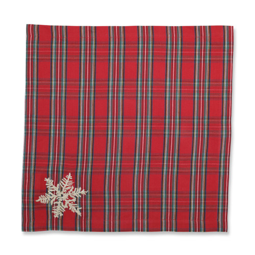 Pillow Perfect Stuart Red Napkin (Set of 2)