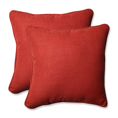 Pillow Perfect Rave Flame 18.5-inch Throw Pillow (Set of 2)