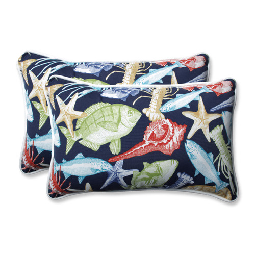 Pillow Perfect Keyisle Regata Rectangular Throw Pillow (Set of 2)