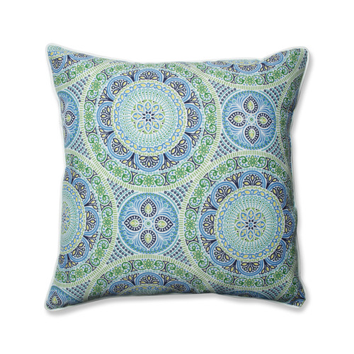 Pillow Perfect Delancey Lagoon 25-inch Floor Pillow