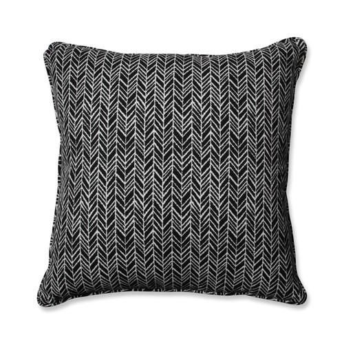 Pillow Perfect Herringbone Night 25-inch Floor Pillow