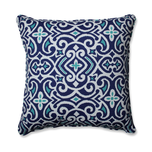 Pillow Perfect New Damask Marine 25-inch Floor Pillow