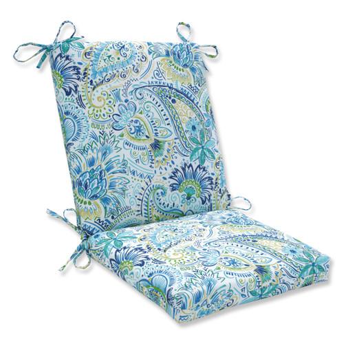 Pillow Perfect Gilford Baltic Squared Corners Chair Cushion