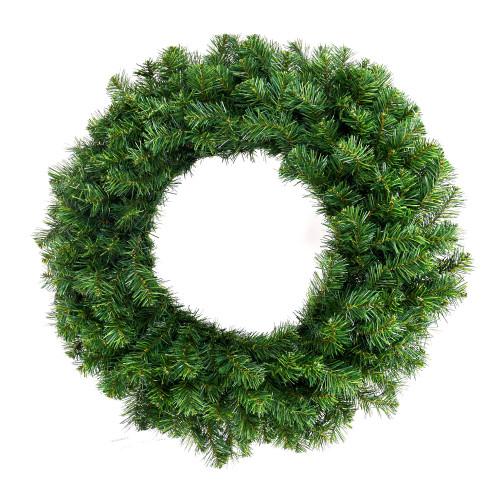 """72"""" Norway Pine Wreath Unlit"""