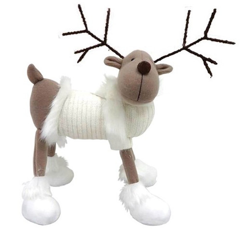 "Standing Deer in White Sweater 17"""