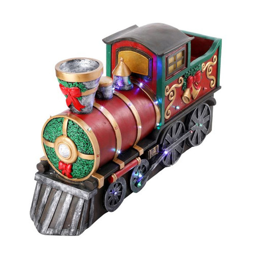 """36"""" Resin LED Plug In Outdoor Train"""