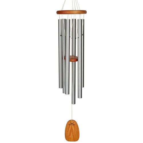"Woodstock Large Amazing Grace Chime 40"" Silver"