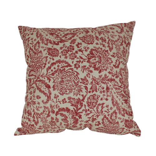 Pillow Perfect Fairhaven Damask 24.5-Inch Floor Pillow