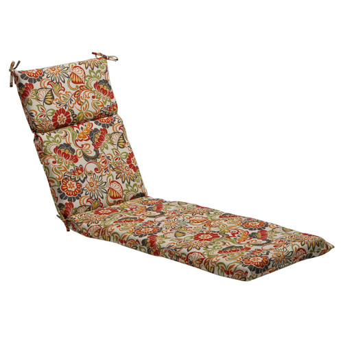Pillow Perfect Zoe Multicolor Chaise Lounge Cushion