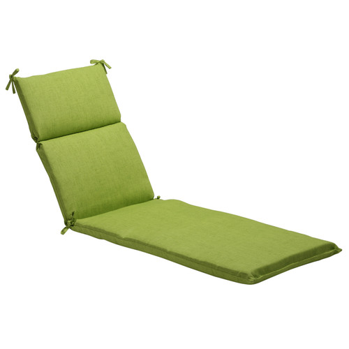 Pillow Perfect Baja Lime Green Chaise Lounge Cushion