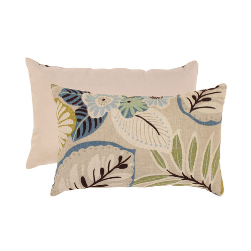 Pillow Perfect Tracey Tropical Rectangle Throw Pillow