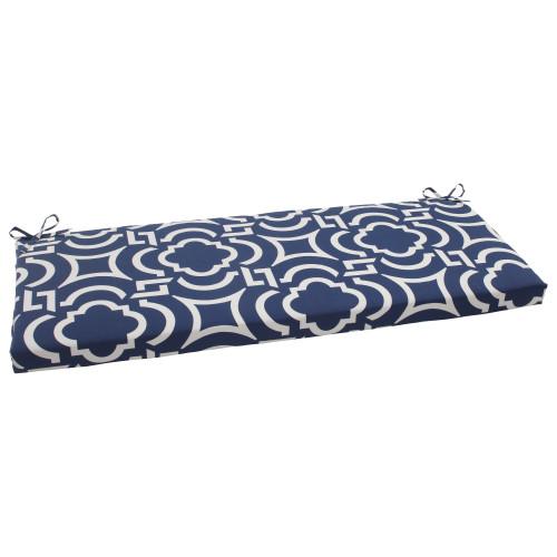 Pillow Perfect Carmody Navy Bench Cushion