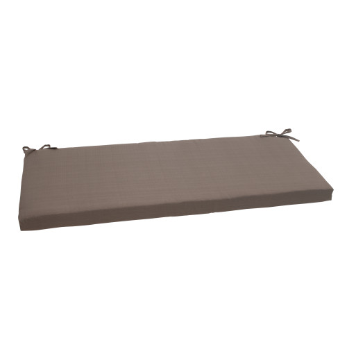 Pillow Perfect Forsyth Taupe Bench Cushion