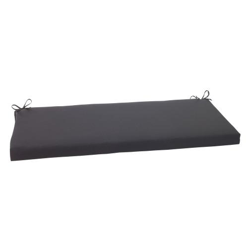 Pillow Perfect Fresco Black Bench Cushion