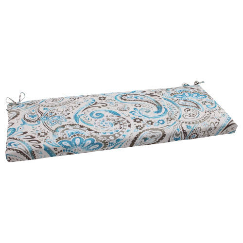 Pillow Perfect Vermilya Tidepool Bench Cushion
