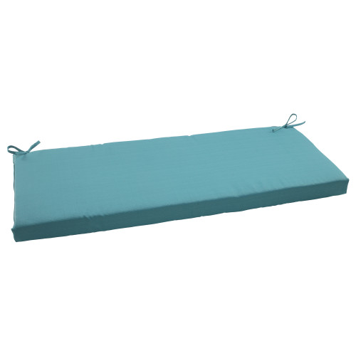 Pillow Perfect Forsyth Turquoise Bench Cushion