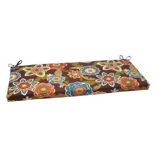 Pillow Perfect Annie Brown Bench Cushion