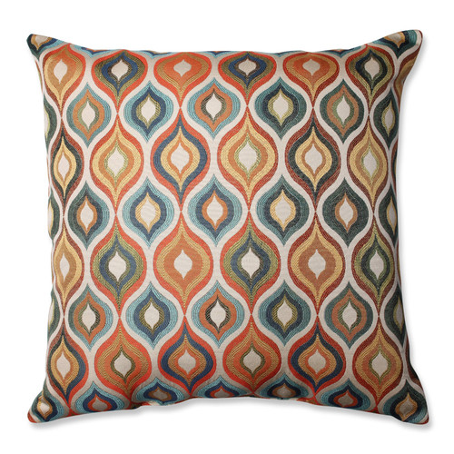Pillow Perfect Flicker Jewel 24.5-inch Floor Pillow