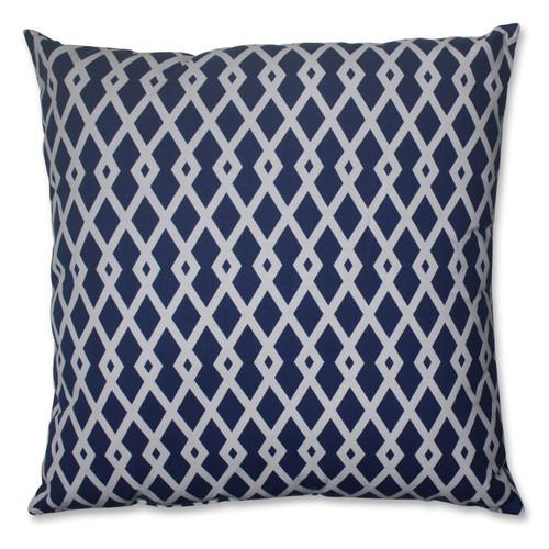 Pillow Perfect Graphic Ultramarine 24.5-inch Floor Pillow