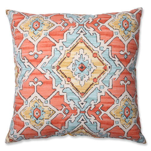 Pillow Perfect Sundance Tangerine 24.5-inch Floor Pillow