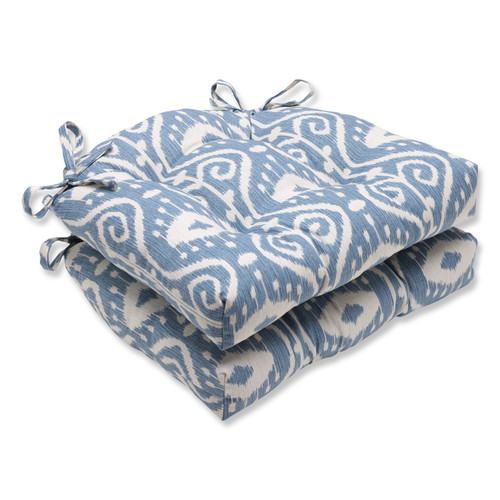 Pillow Perfect Empire Yacht Reversible Chair Pad (Set of 2)