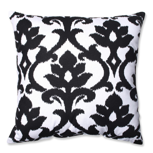 Pillow Perfect Azzure Black 24.5-inch Floor Pillow