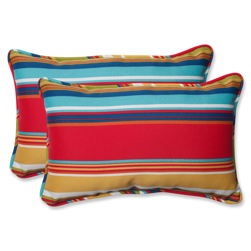 Pillow Perfect Westport Garden Rectangular Throw Pillow (Set of 2)