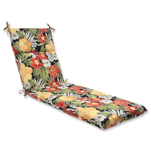 Pillow Perfect Clemens Noir Chaise Lounge Cushion