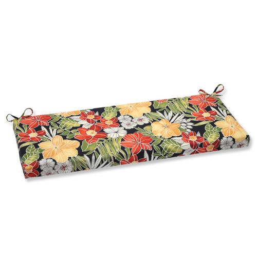 Pillow Perfect Clemens Noir Bench Cushion