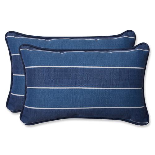 Pillow Perfect Wickenburg Indigo Rectangular Throw Pillow (Set of 2)