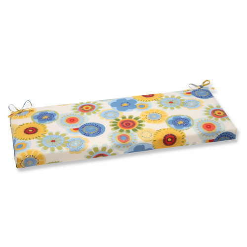 Pillow Perfect Crosby White Bench Cushion