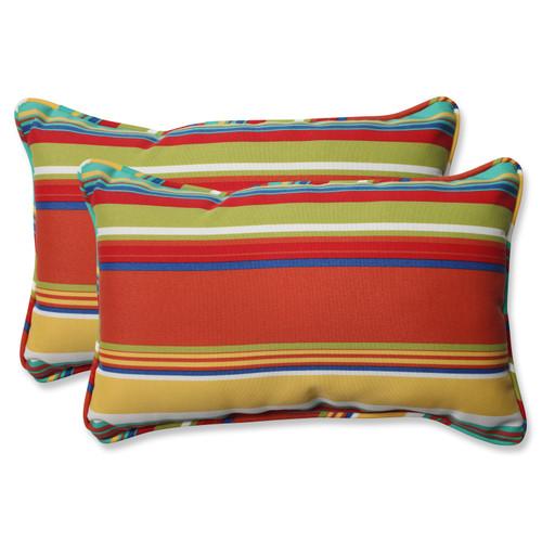 Pillow Perfect Westport Spring Rectangular Throw Pillow (Set of 2)