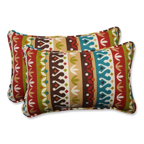 Pillow Perfect Cotrell Jungle Rectangular Throw Pillow (Set of 2)