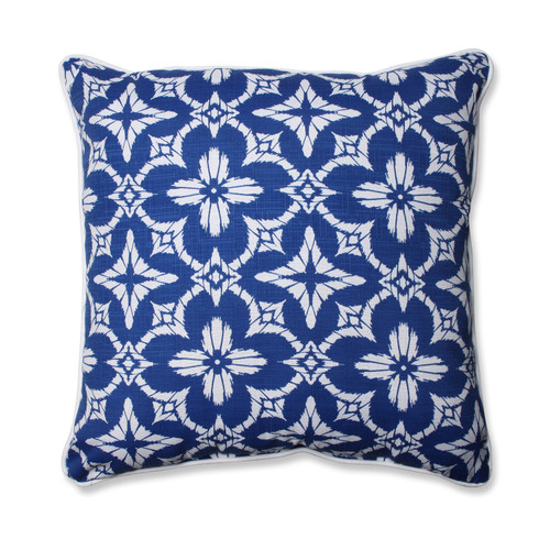 Pillow Perfect Aspidoras Cobalt 25-inch Floor Pillow