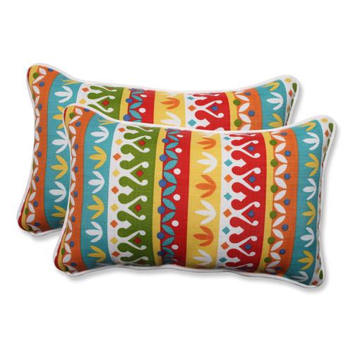 Pillow Perfect Cotrell Garden Rectangular Throw Pillow (Set of 2)