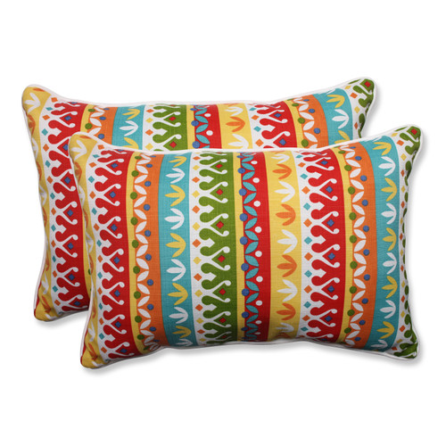 Pillow Perfect Cotrell Garden Over-sized Rectangular Throw Pillow (Set of 2)