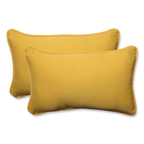 Pillow Perfect Forsyth Soleil Rectangular Throw Pillow (Set of 2)