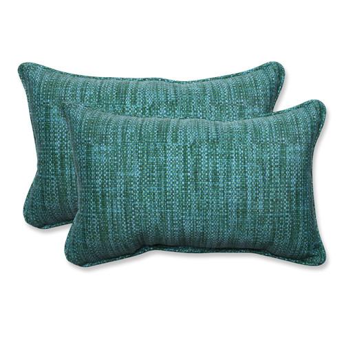 Pillow Perfect Remi Lagoon Rectangular Throw Pillow (Set of 2)